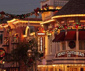 christmas, disney, and lights image