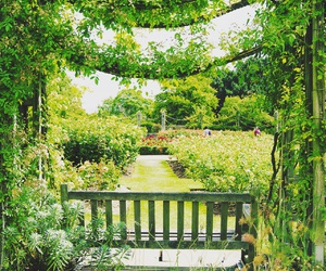 beautiful, garden, and london image