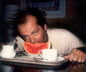 jack nicholson, watermelon, and actor image