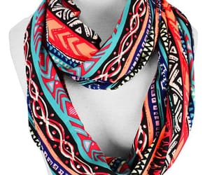 accessories, scarf, and tribal image