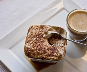 cake, coffe, and delicious image