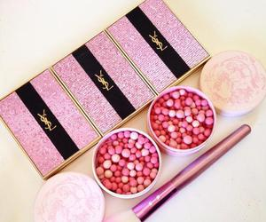 makeup, pink, and YSL image