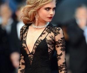 cara delevingne, model, and dress image