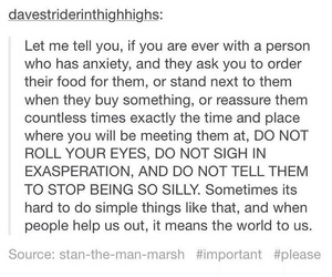 advice, anxiety, and tumblr image
