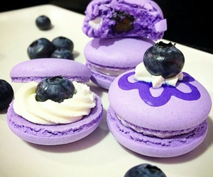 blueberry, cute, and food image