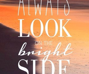 quotes, life, and bright image