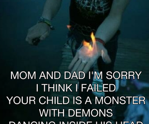 demons, mom and dad, and monster image
