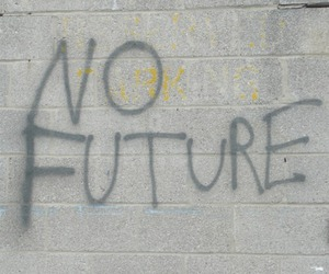 future, wall, and no future image