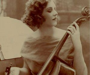 cello and vintage image