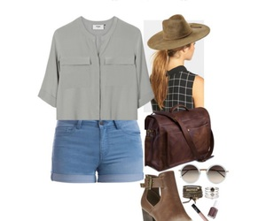 outfit, Polyvore, and camping trip image