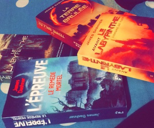books, the maze runner, and the dead cure image