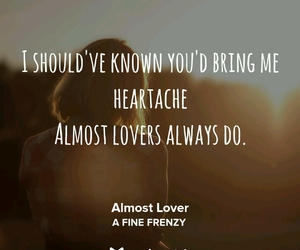 a fine frenzy, almost, and Lyrics image