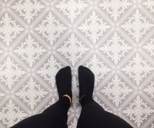 beautiful, feet, and floor image