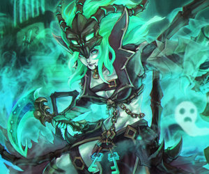 league of legends and thresh image