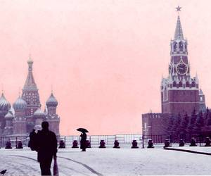 russia, winter, and Red Square image