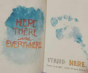 beatles, wreck this journal, and here there and everywhere image