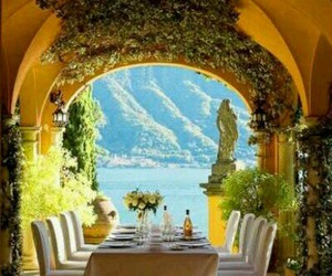 cozy, dining, and italian image