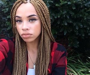 nose piercing and i like yo hair image