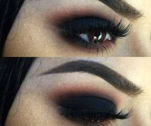black and makeup image