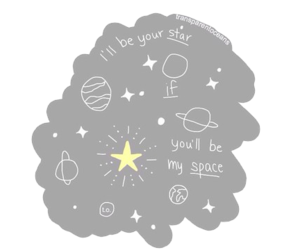 overlay, png, and space image