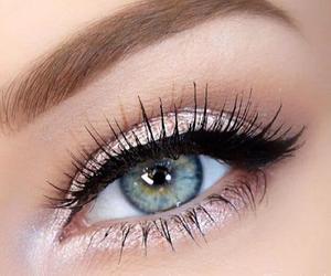 eye, makeup, and fashion image