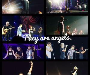 angels, liam payne, and niall horan image