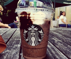 frappuccino, starbucks, and summer image