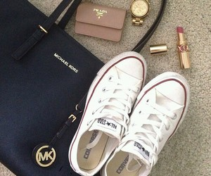 Prada, converse, and Michael Kors image