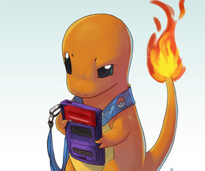 pokemon, charmander, and cute image