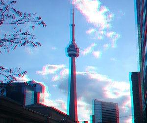 6, city, and CN tower image