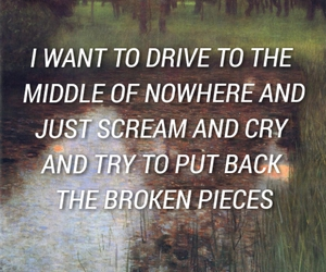 broken, cry, and grunge image