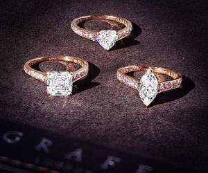fashion, luxury, and ring image