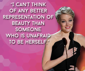 emma stone and quote image