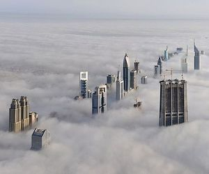 clouds, Dubai, and city image