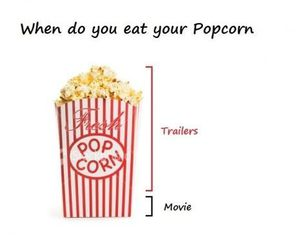 life, movies, and popcorn image