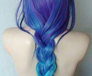 blue, pale, and colorful image