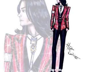 michael jackson, hayden williams, and fashion illustration image