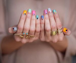 colors, nails, and new image