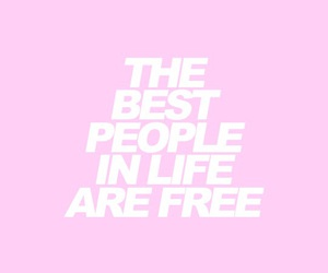 free, people, and pink image