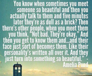 doctor who, quotes, and amelia pond image