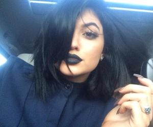 kylie jenner, black, and kardashian image