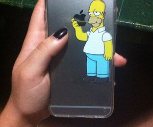 case, phone, and simpson image