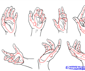 drawing tips, drawing hands, and drawing hand expressions image