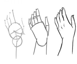 drawing how to, drawing tips, and drawing hands image