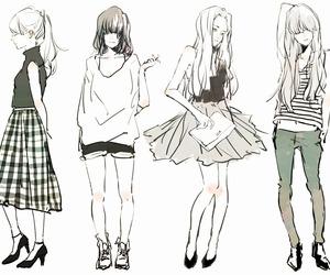 girl, art, and manga image