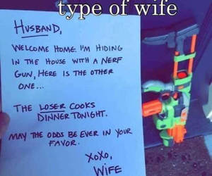 funny and wife image