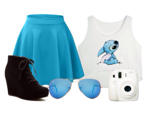 disney, outfit, and stitch image
