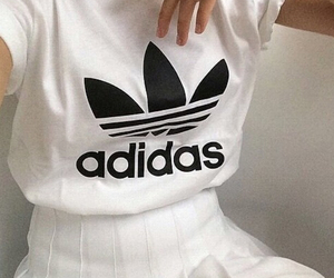 adidas, white, and grunge image