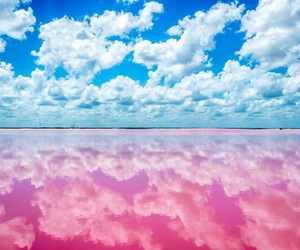 pink, blue, and mexico image