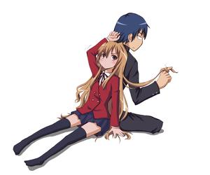 toradora, ryuuji, and anime image